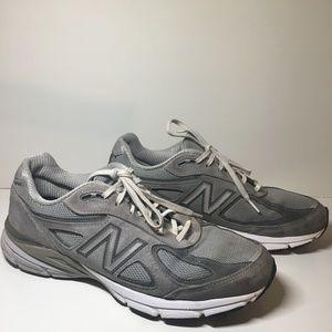 Men's New Balance 990v4 Running Shoes Gray